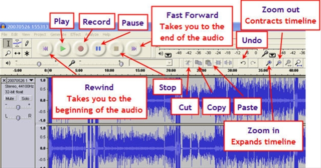 Audacity – Free Multiplatform Audio Recorder/Editor | Bill