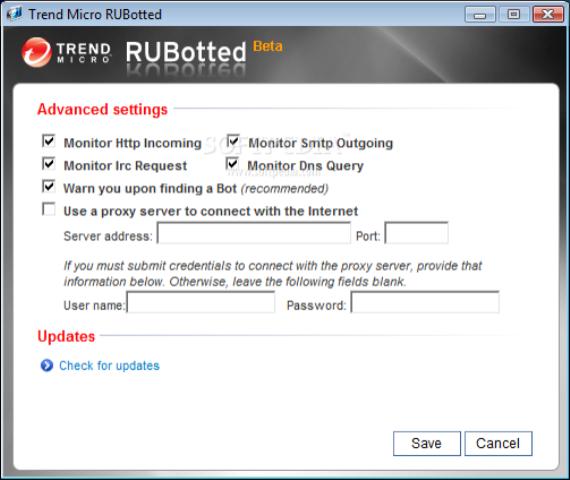 RUBotted full screenshot