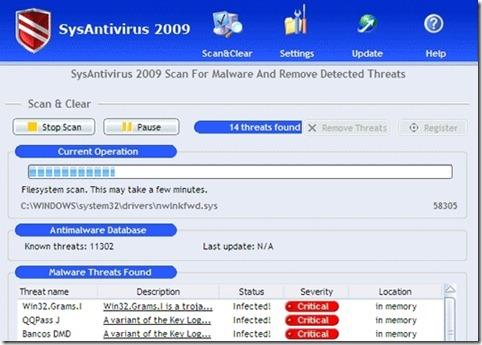 sysantivirus2009