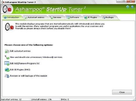 Ashampoo Startup mgr