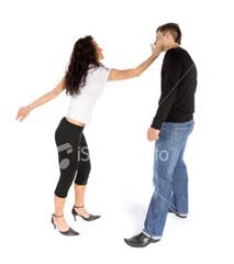 Domestic violence.woman