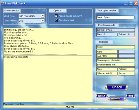 Emsa Disk Check 10