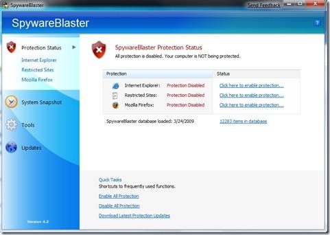 SpywareBlaster 1