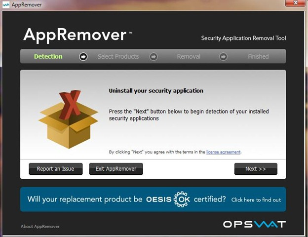 AppRemover a powerful free anti-malware, antivirus application remover which ...