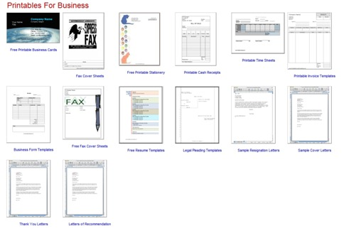 Free Printables 1