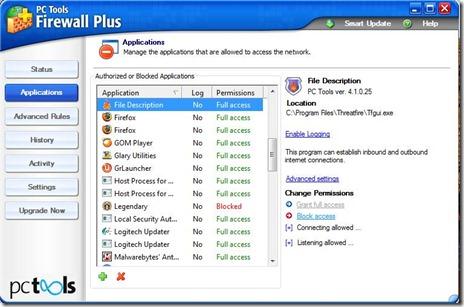 PC Tools Firewall 2