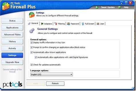 PC Tools Firewall 3