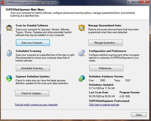 Free Lifetime License for SUPERAntiSpyware Professional – 20 to Give