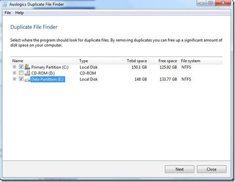 Duplicate File Finder 1