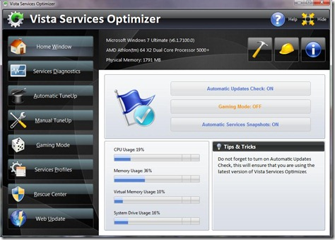 Vista Services Optimizer 1