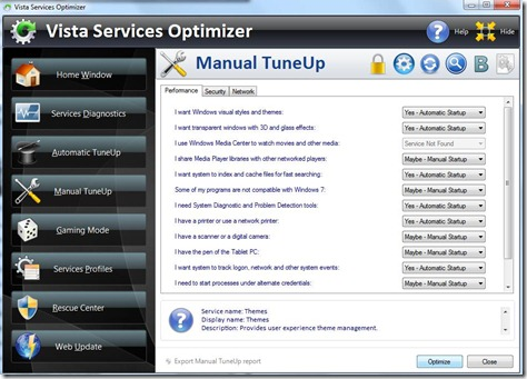 Vista Services Optimizer 4