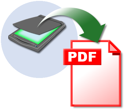 scanning a pdf file