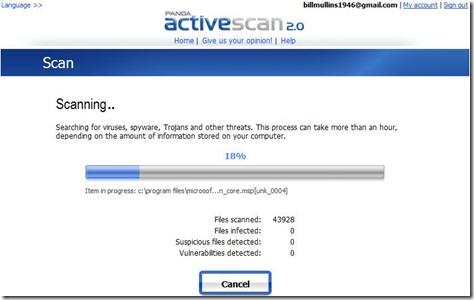 Panda ActiveScan 2