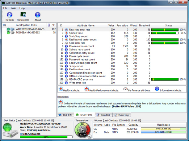 Hdd Temperature Freeware
