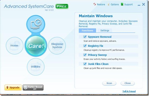 Advanced SystemCare 1