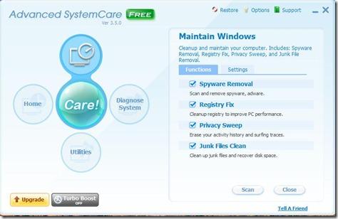 Advanced SystemCare 1