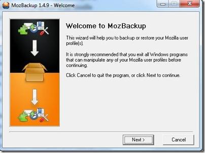 MozBackup 1