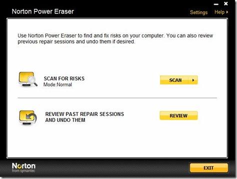 Norton Power Eraser 1