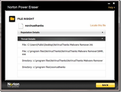 Norton Power Eraser 3