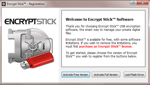 Download Free Encrypt Stick 4 3 – A Digital Privacy Manager
