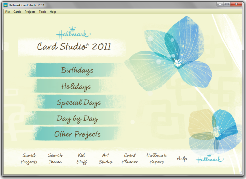 Hallmark card studio 2011 greeting card software on steroids image m4hsunfo