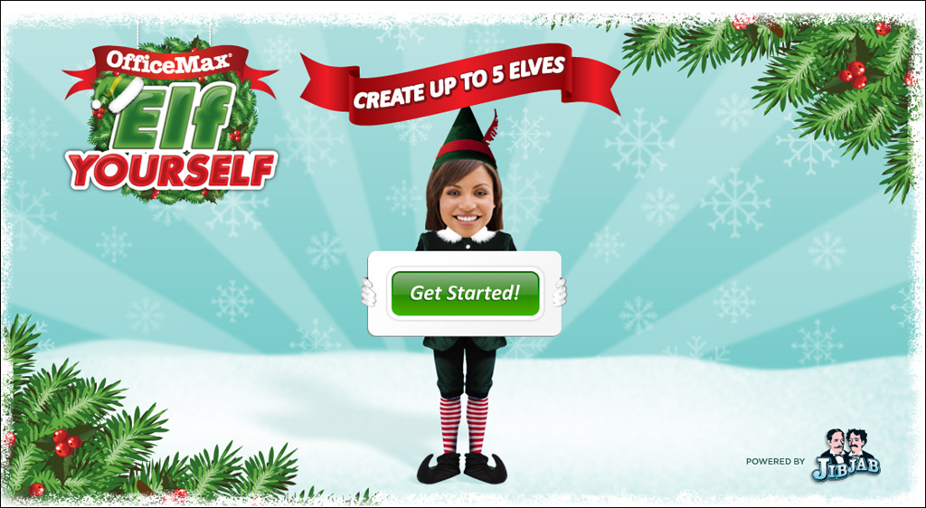 Go elf yourself christmas is coming bill mullins - Office max elf yourself free download ...
