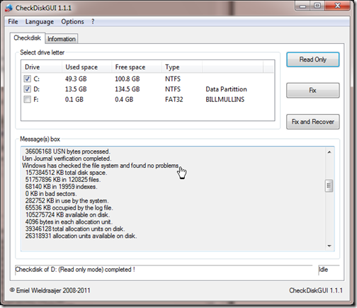 how to run system file checker win7