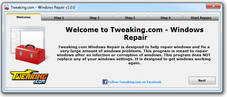Tweaking com Windows Repair Utility – What Super Users Say | Bill