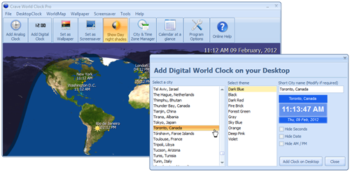 Crave World Clock – 20 Free Licenses Giveaway | Bill Mullins
