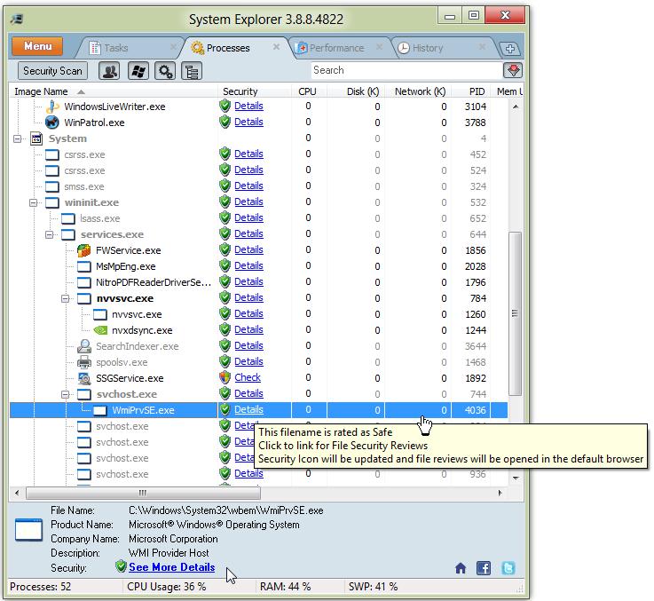 Windows Task Manager Replacement | Bill Mullins' Weblog