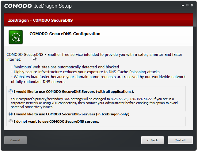 Comodo IceDragon – A More Secure Firefox? | Bill Mullins' Weblog