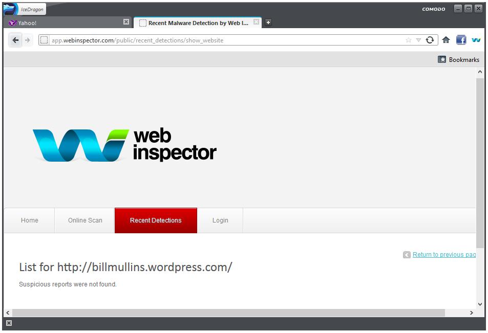 Comodo IceDragon – A More Secure Firefox?   Bill Mullins' Weblog
